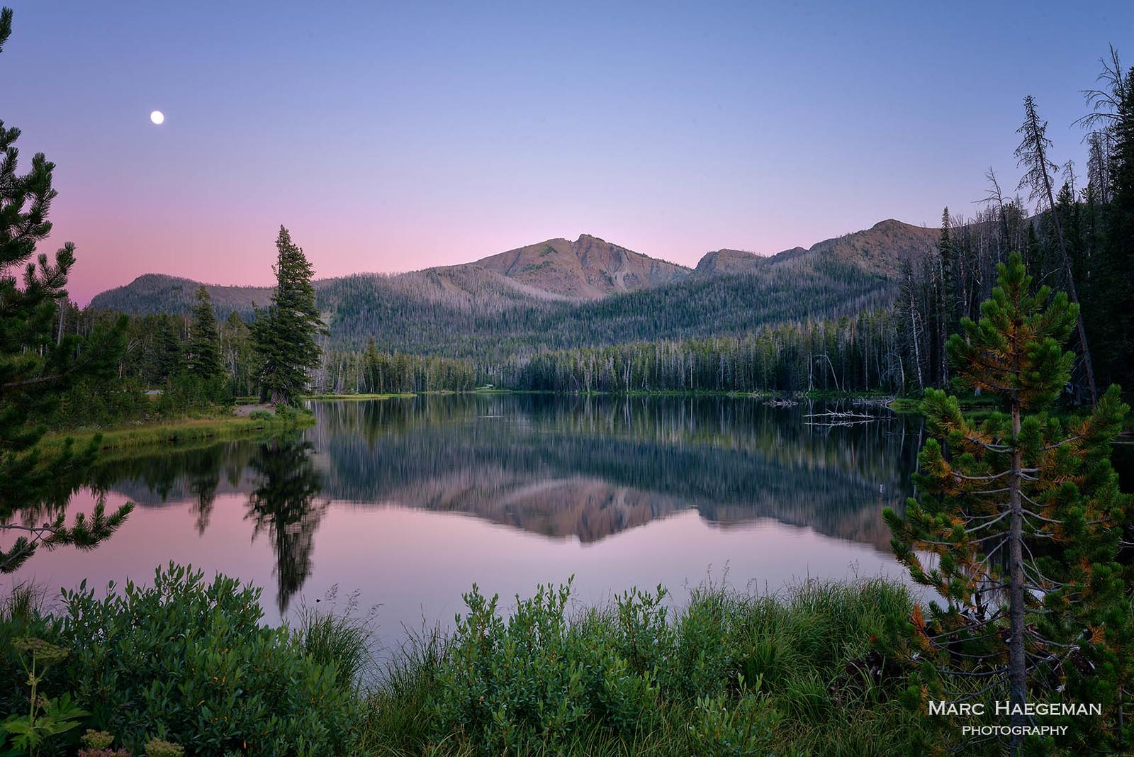 Evening at Sylvan Lake