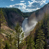 Lower Falls in the Yellowstone Canyon