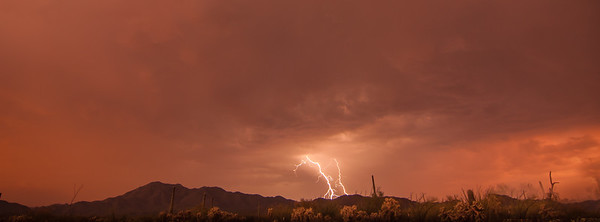 Lightning on Wasson Peak #6
