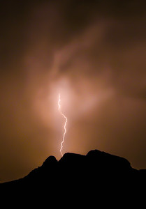 Lightning on Panther Peak #3