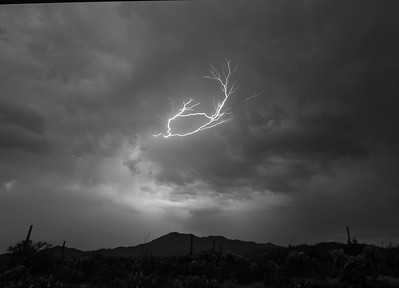 Lightning above Wasson Peak #1