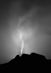 Lightning on Panther Peak #2