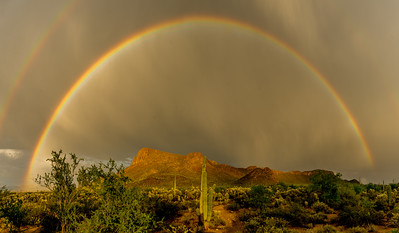 Rainbow Over Panther Peak