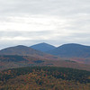 Ira Mountain scenic overlook - Sugarloaf is the mountain in the middle.