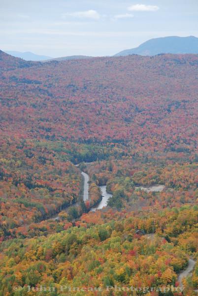 Ira Mountain scenic overlook