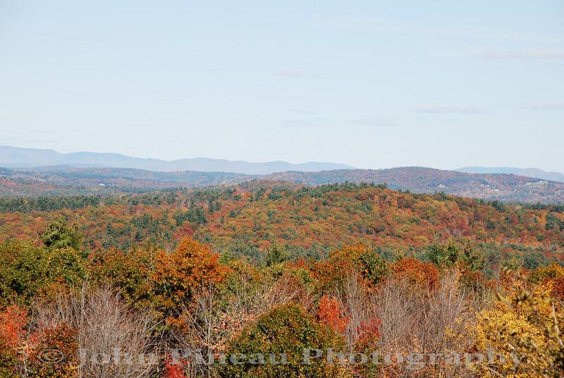 Fall Foliage from Hacker's Hill - Casco, Maine<br /> FO_0051-DSC_5437