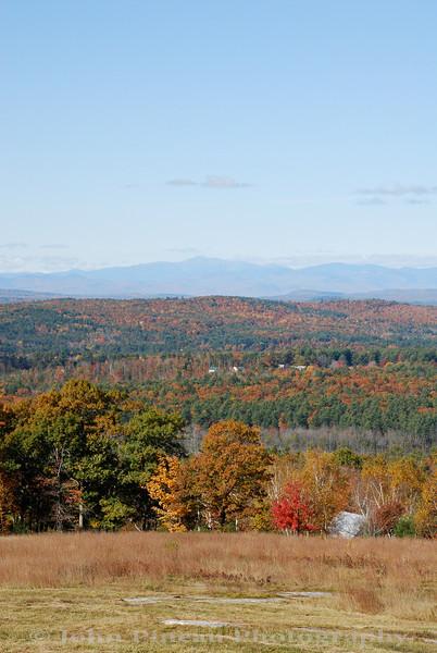 Fall Foliage from Hacker's Hill - Casco, Maine<br /> FO_0036-DSC_5417