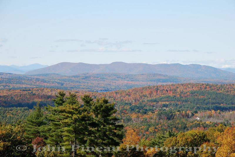 Fall Foliage from Hacker's Hill - Casco, Maine<br /> FO_0038-DSC_5432