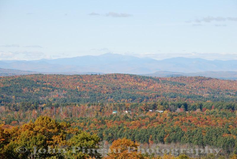 Fall Foliage from Hacker's Hill - Casco, Maine<br /> FO_0039-DSC_5434