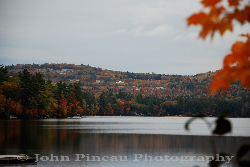 Fall Foliage along Crystal Lake - Harrison, Maine<br /> FO_0031-DSC_5338