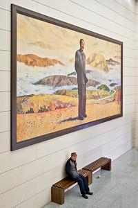 Shaoshan Mao Memorial Museum, Shaoshan, Hunan Province.