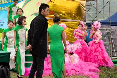 Liuzhi Rapeseed Flower Festival, Mugangzhen, Guizhou Province 六枝特区第二届油菜花节