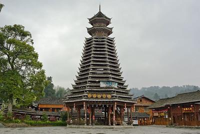 Zhaisha Dong Village, Fanjingshan, Guizhou Province