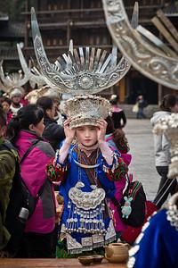 Xijiang Qianhu Miao Village, Guizhou Province