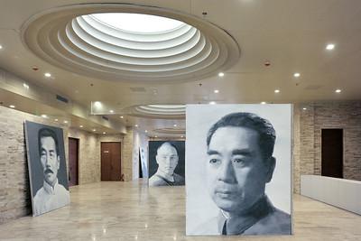 Xu Weixin exhibition, Longmen Museum, Luoyang, 2012