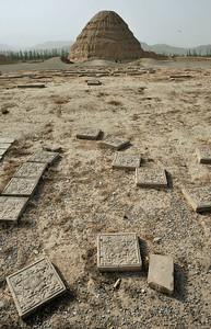 Xixia Mausoleum, Yinchuan, 2011