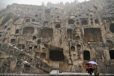 Longmeng Grottoes, Luoyang, 2012