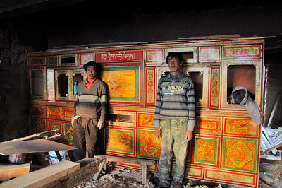 Furniture workshop, Gyantse