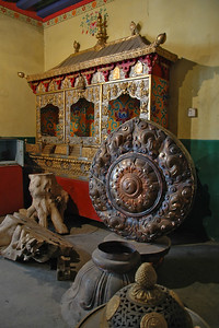 Worshop, Ancient Fine Art General Restoration Company, Lhasa