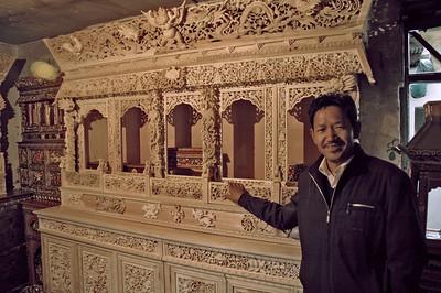 Barkhor shop, Lhasa