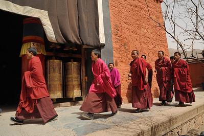 Labrang Monastery, Xiahe, Gannan Tibetan Autonomous Prefecture, Gansu Province