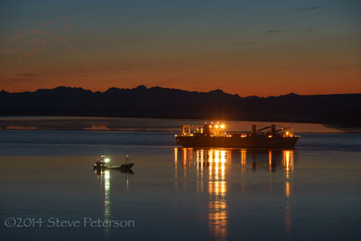 Alaska Outtakes--Anchored in the Cook Inlet.