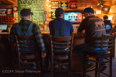 Alaska Outtakes--At the bar.