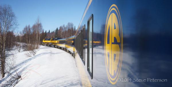 Alaska Outtakes--Train reflection 2.