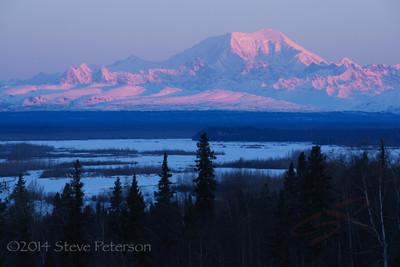 Alaska Outtakes--Denali sunrise.