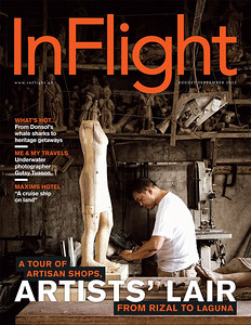 Slice of Art Inflight Magazine August September 2013 Issue