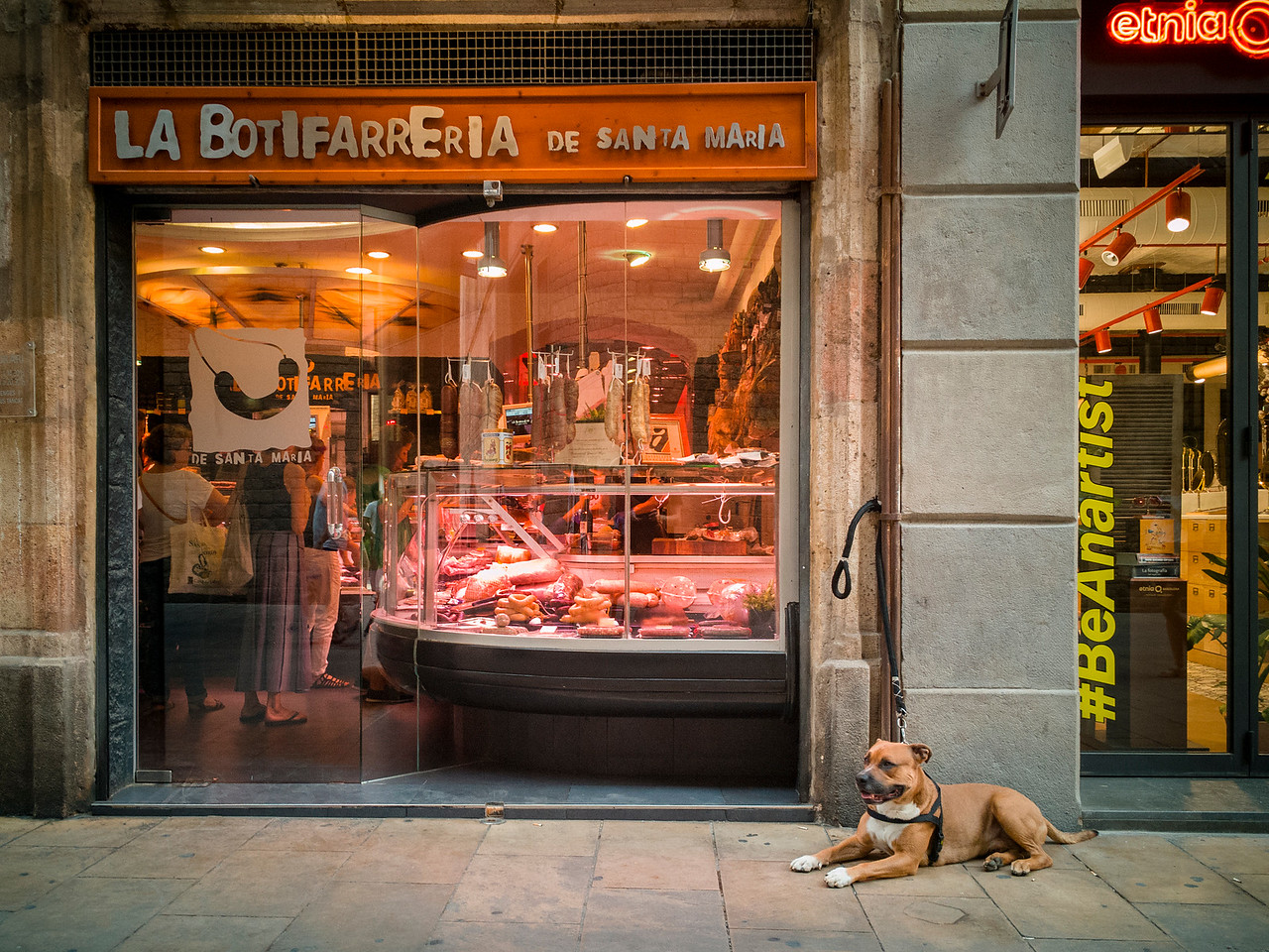 At the butcher's