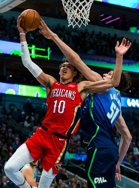 Pelicans Mavericks Basketball