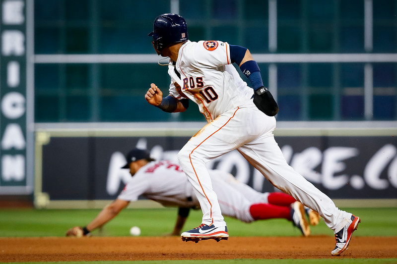 ALCS Game 4 - Red Sox @ Astros, Houston, TX (Photo by Sam Hodde)