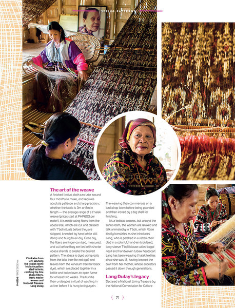 CEB Smile Magazine Feature | Weave a Lot to Learn