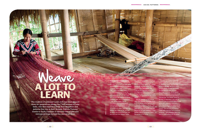 CEB Smile Magazine Feature | Weave a Lot to Learn  September 2013 Issue