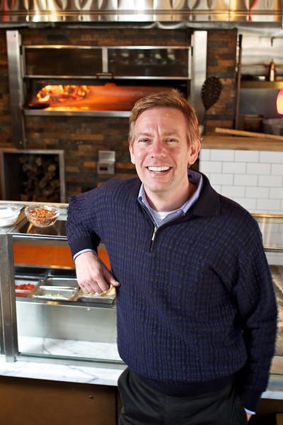 Joe Fuegere, of Tutta Bella Pizza in Seattle