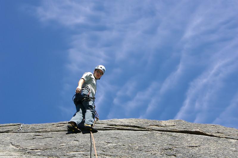 REI's Anderson Award winners go rock climbing off of Icicle Creek near Leavenworth, WA.