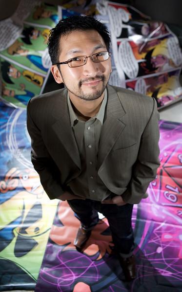 Robert Khoo, of Penny Arcade, for UW Business Magazine