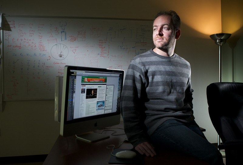 Mike Davidson, of Newsvine.  The UW Business School graduate's company was purchased by MSNBC.