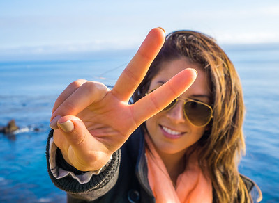 Peace from the California Cliffs.
