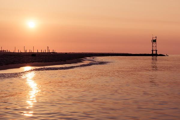 Burning Cape Cod Morning.