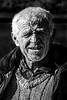 Old farmer of Albanian origin at Kalpaki, Northen Greece<br /> January 2014