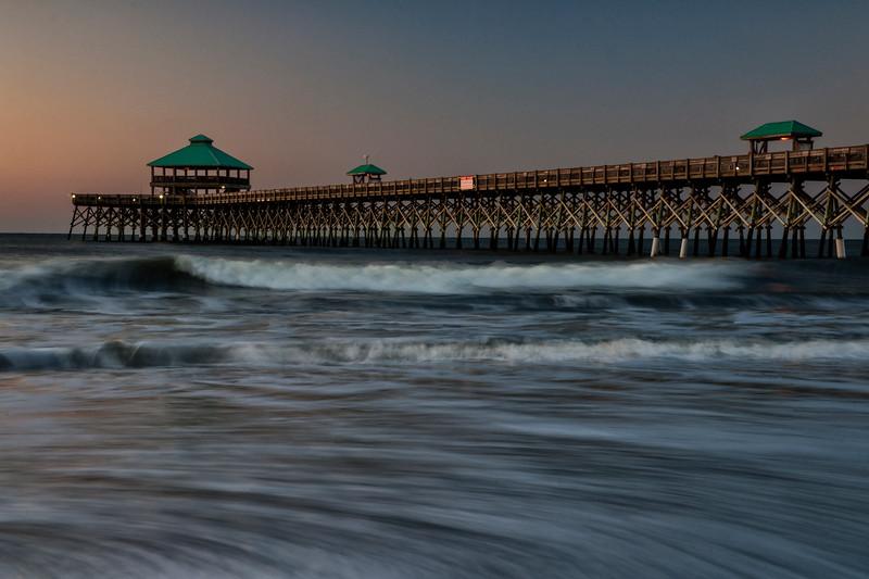 Sunset on Folly Beach Pier