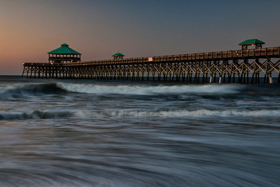 Sunset on Folly Beach Pier