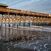 Golden Light on Folly Beach Pier
