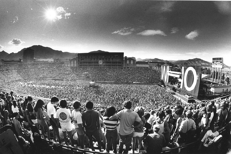 FOLSOM FIELD CONCERTS