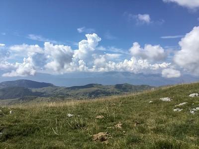 Août 2018,  Cima Faïete, L'Aquila, Abruzzes, Italie