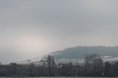 février 2018, Le Mutzigberg, Mutzig, Bas-Rhin.
