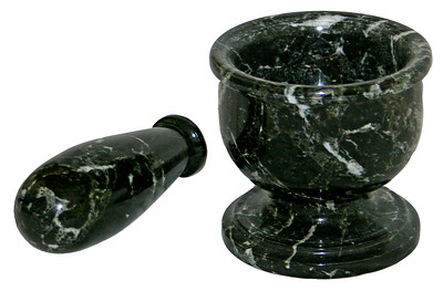 green onyx mortar and pestle