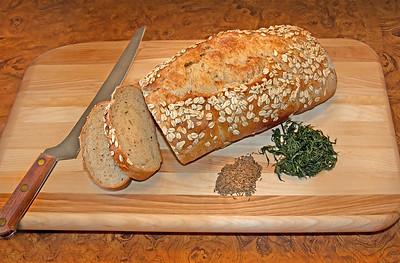 Homemade Artisan Rye Bread
